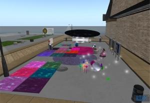 Preparativos de la fiesta Emprendedores 09'